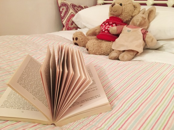 Book on Bed - Read to sleep