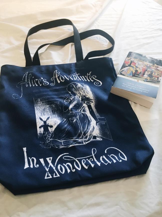 Alice in Wonderland tote 1